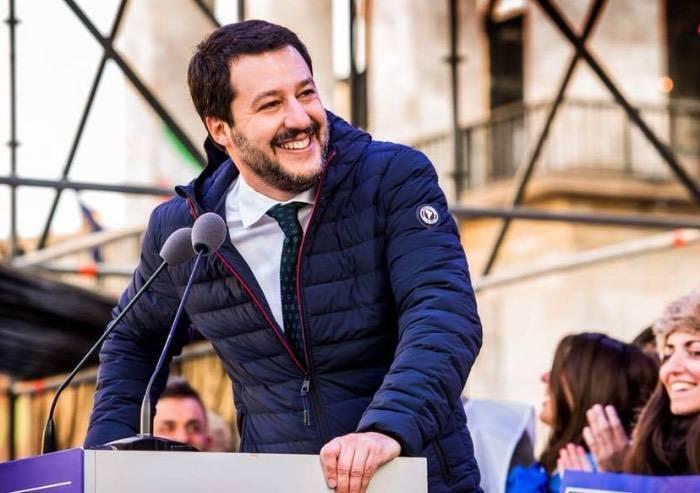 Il giorno di Salvini in piazza: 'Ecco i rinforzi per Modena'