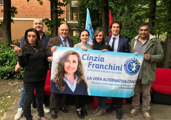 Modena Ora, benedizione Psi: 'Franchini donna coraggiosa per Modena'