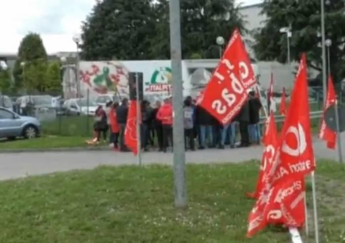 CGIL e Si Cobas unite (e in sciopero), per chiedere il contratto nazionale a Italpizza