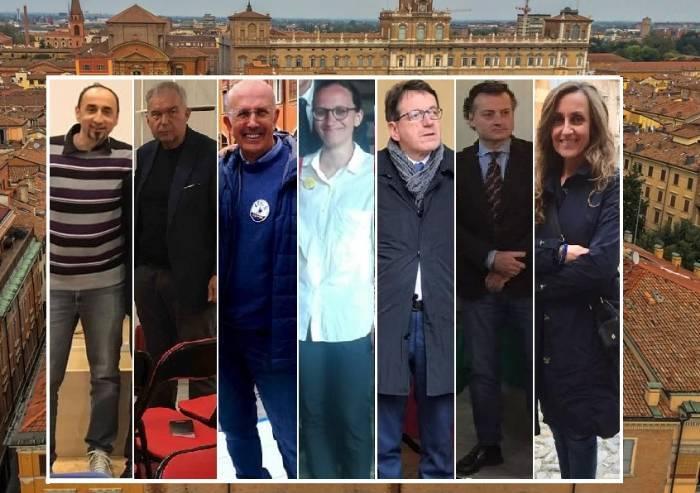 Modena, non è un bivio tra Bene e Male, ma una scelta del migliore tra sette candidati