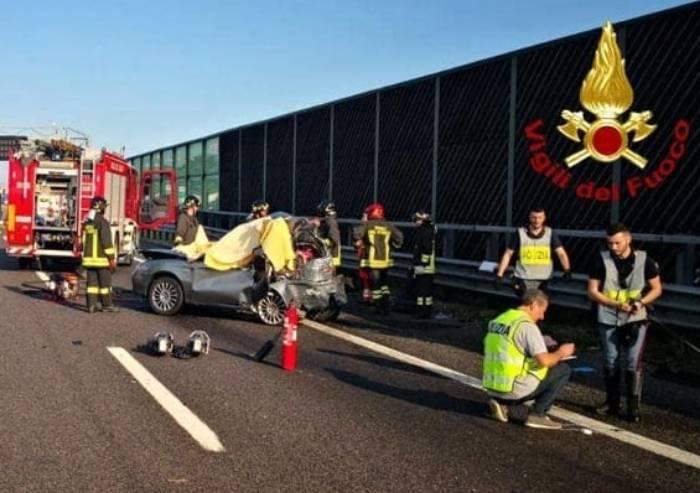 Scontro in A1: morte tre donne di Sassuolo una quarta ferita
