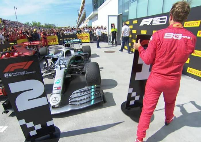 Formula 1: Vettel primo, ma penalità premia Hamilton