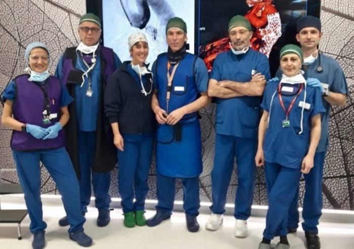Chirurgia aorta: a Modena una sostituzione endovascolare completa