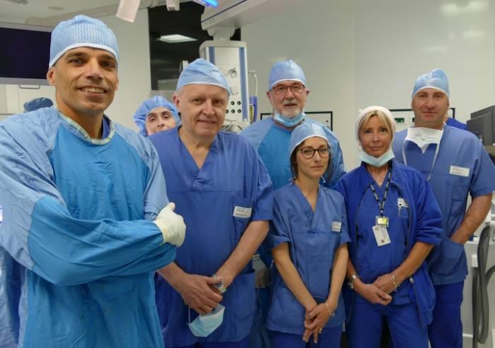 Ospedale di Carpi, specialisti in rete per curare una metastasi