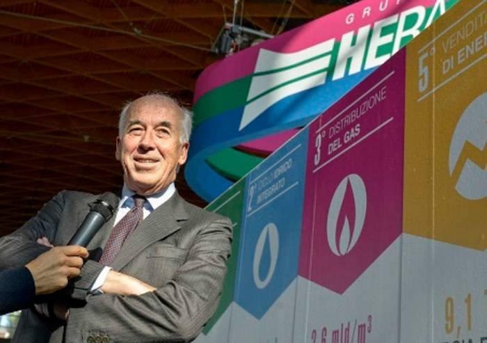 Hera, aumenta ancora il compenso del presidente: oltre 550mila euro