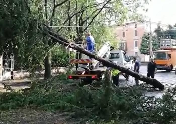 Modena sferzata da vento e grandine: 30 feriti, nessuno grave, e danni ingenti