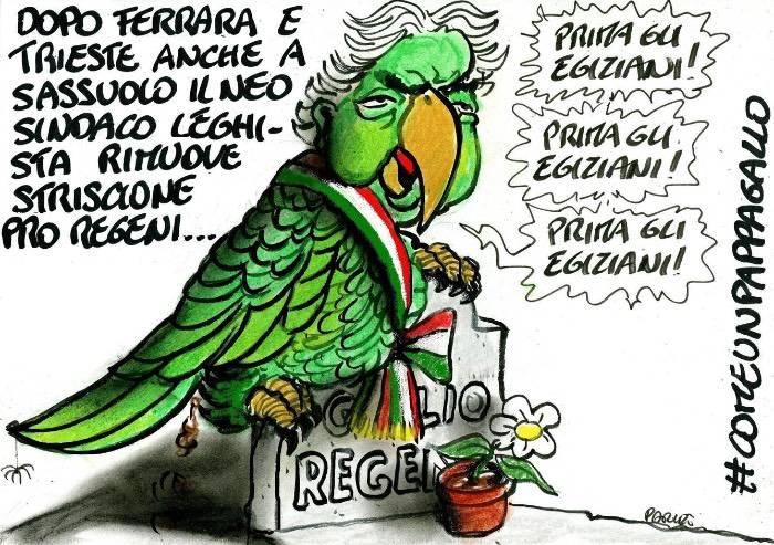 Il sindaco di Sassuolo e lo schiaffo alla memoria di Regeni