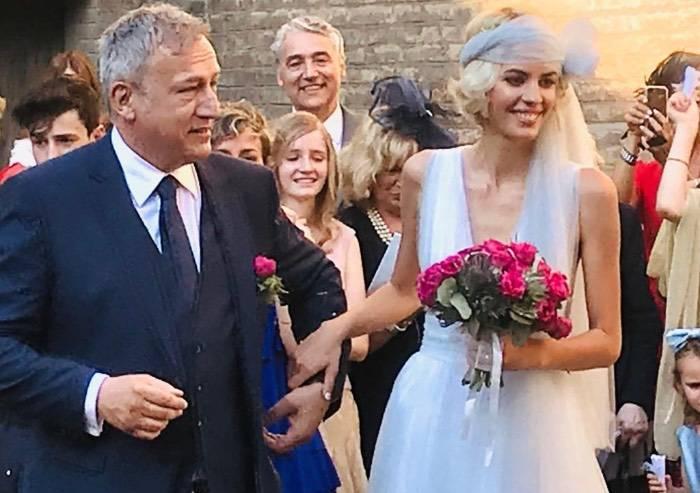 Andrea Galli sposa la sua Carlotta: festa anche per la politica modenese