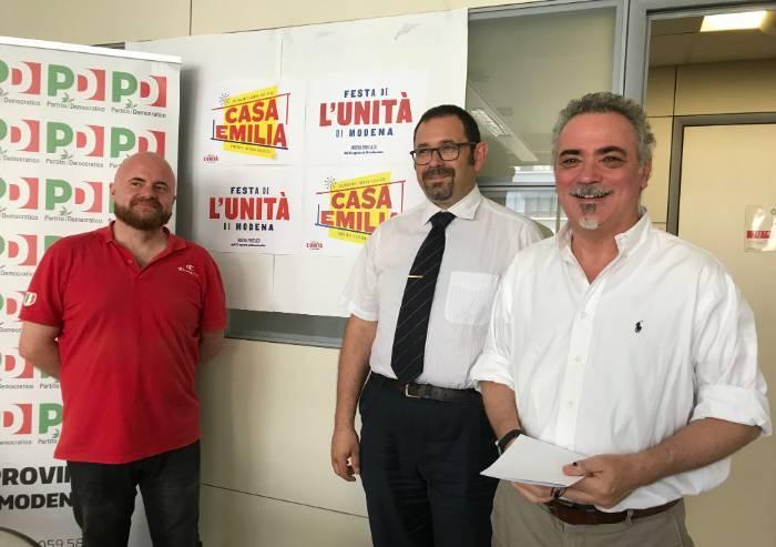 La festa dell'Unità di Modena si autoproclama 'Casa Emilia'
