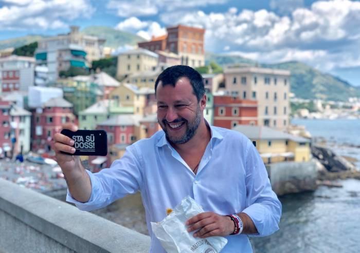 Muzzarelli a Salvini: 'Non garantisci sicurezza, dopo i selfie niente'