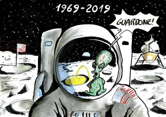 L'astronauta guardone