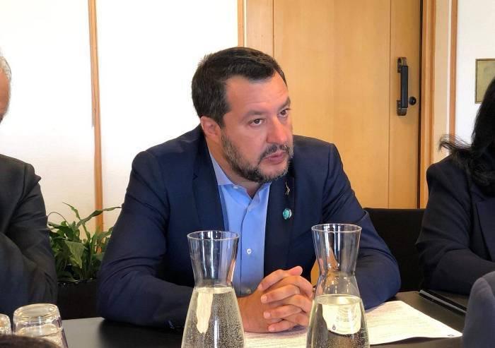 Salvini: 'Presto a Bibbiano, sinistra fa business su minori'