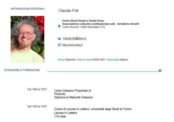Orrore di Reggio, Foti non è nemmeno laureato in psicologia