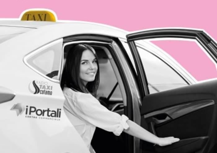 Taxi Rosa, buono sconto per le donne che fanno spesa ai Portali