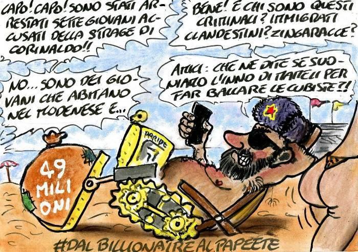 L'Italia s'è desta: Salvini, le cubiste e la Destra italiana