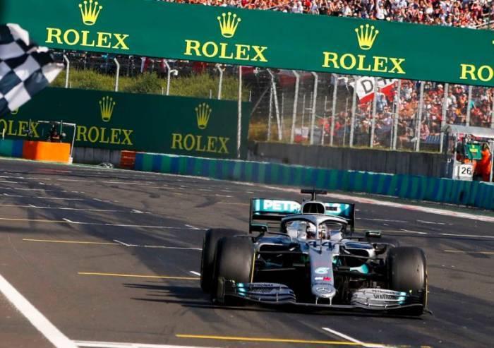 Gran Premio d'Ungheria: vince Hamilton, Vettel terzo