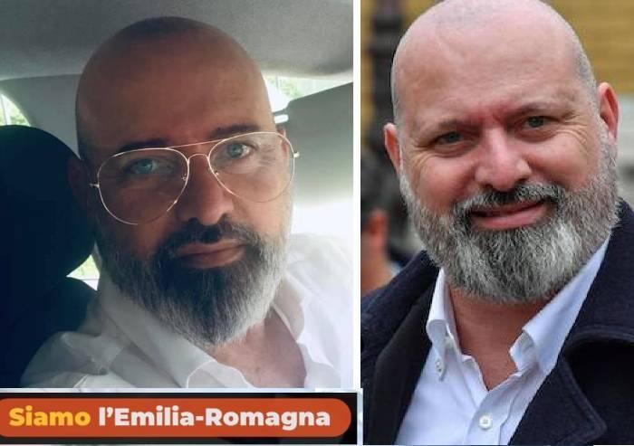 Regionali, Bonaccini strategy: look trasformato e logo Pd in soffitta