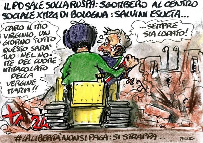 Se il sindaco di Bologna Pd abbraccia Salvini