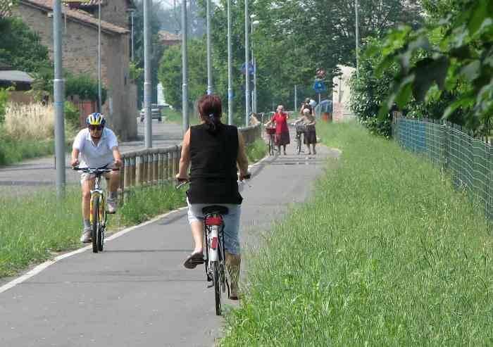 Ciclisti vittime del sistema modenese delle ciclabili