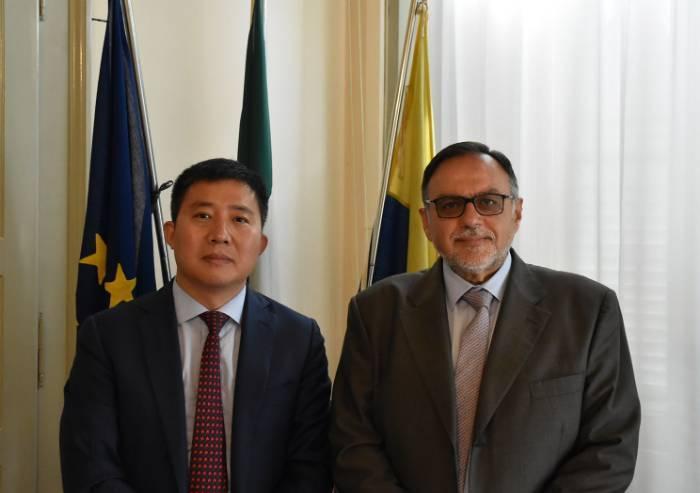 Provincia Modena, il presidente Tomei ha incontrato il console cinese