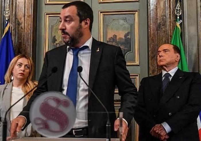 La fine di FI, prateria liberale senza leader, la destra ci riprova con Salvini