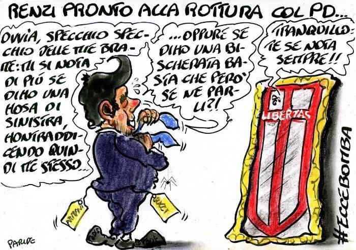 Lo specchio di Renzi