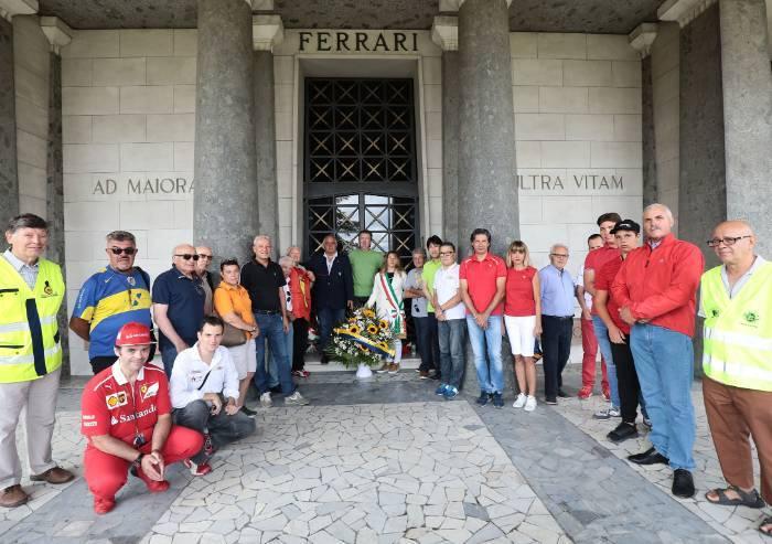 Enzo Ferrari, omaggio di Modena a 31 anni dalla morte