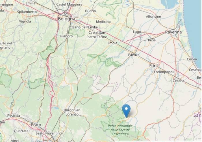 Terremoto a Forlì, ancora una scossa di magnitudo 3.6 nella notte