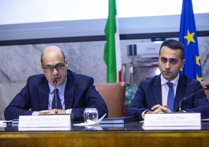 Governo Pd-M5s, Zingaretti apre e detta 5 punti