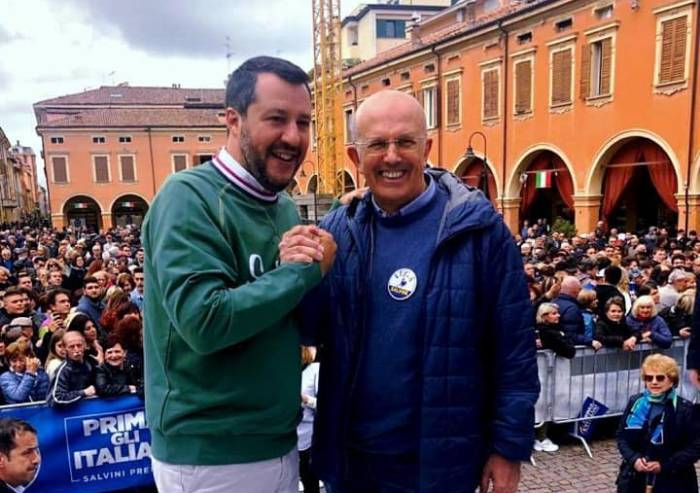 Salvini stritolato da inciucio Pd-M5S, che occasione persa a Modena
