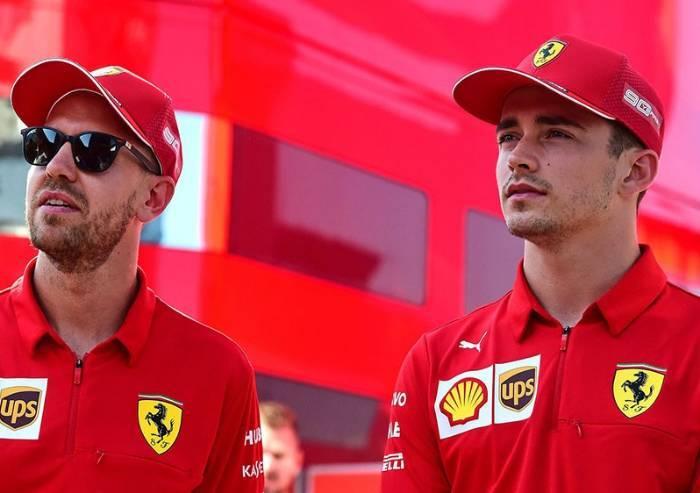 Formula 1, prima fila tutta Ferrari: Leclerc in pole