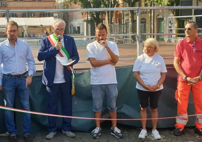 Mirandola, il sindaco: 'Volontariato volano di civiltà'