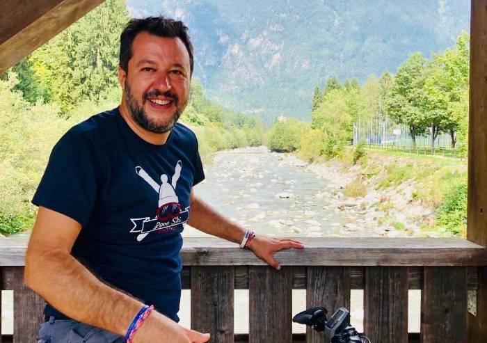 Da Salvini un calcolo politico a fin di bene... finito male