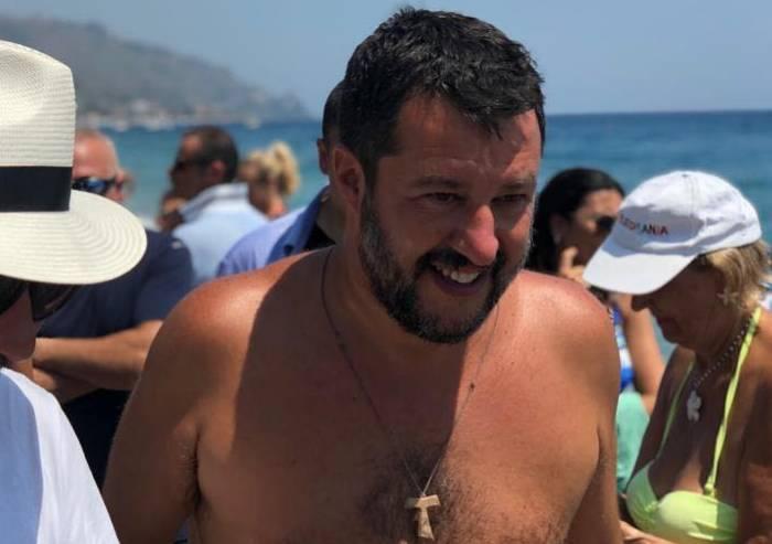 Crisi di Governo, Salvini alla incessante ricerca del capro espiatorio