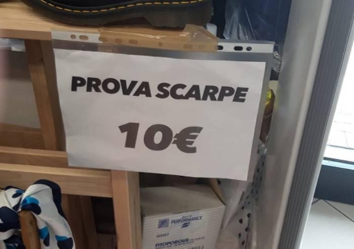 Dieci euro per provare scarpe: è il primo negozio in Emilia Romagna