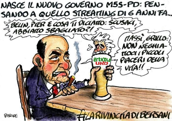 Tante scuse a Bersani