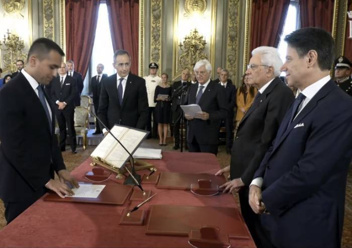 Il Conte-Bis ha giurato al Quirinale e si insedia a Palazzo Chigi