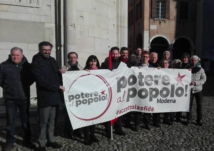 Potere al Popolo: 'Disdetta Italpizza le colpe di Muzzarelli e Caiumi'
