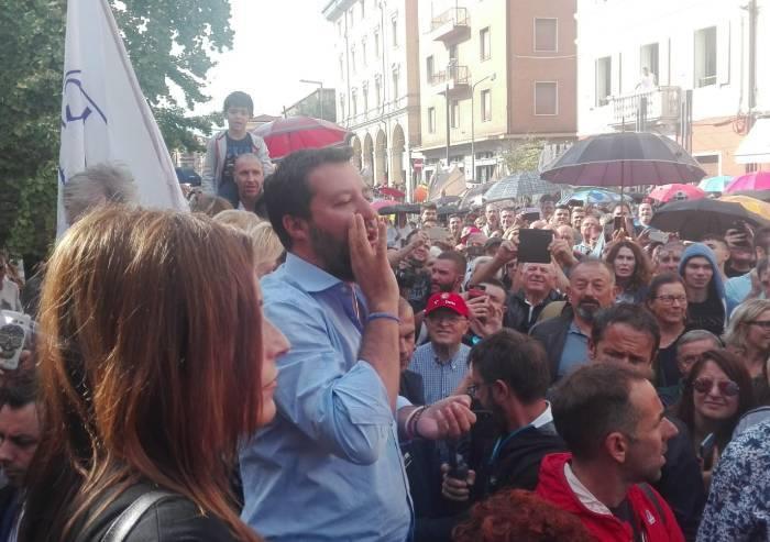 Salvini a Vignola, Borgonzoni: 'Possiamo liberare la nostra terra'