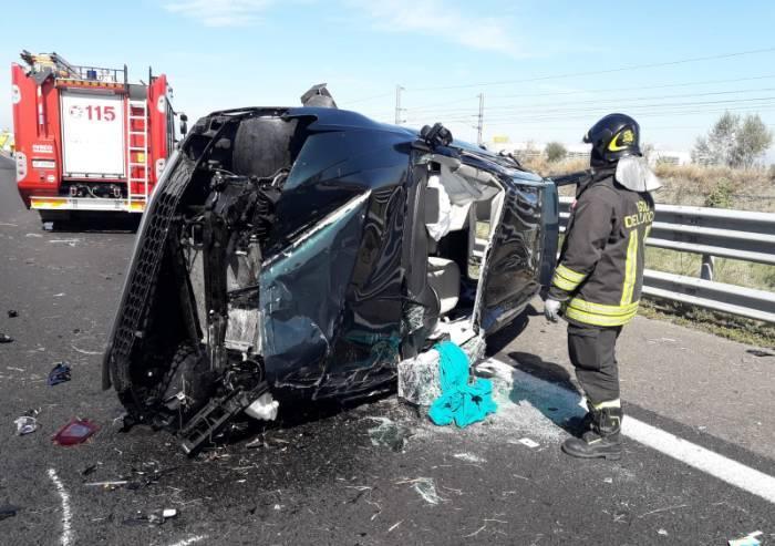 Raffica di incidenti in A1: per il traffico giornata nera