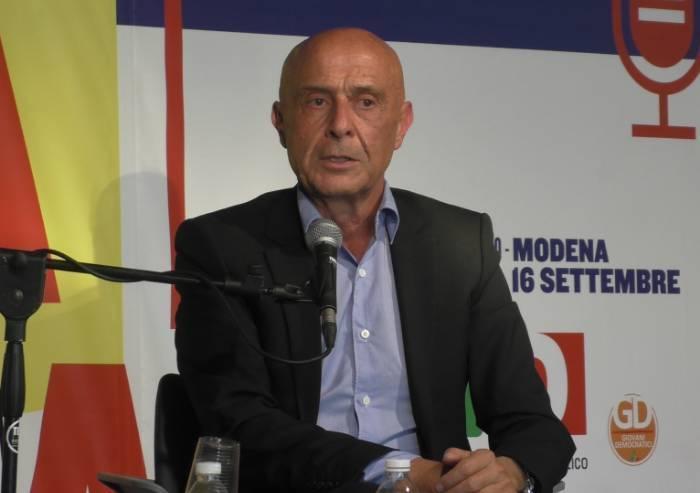 Filosofo Minniti: 'Prosciugheremo populismo e paura, solo così il governo avrà senso'