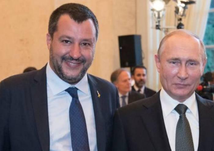 Il complottismo salviniano si ferma a Mosca