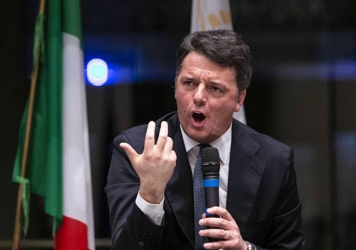 Pd, la scissione ora è formale: Renzi lascia il partito
