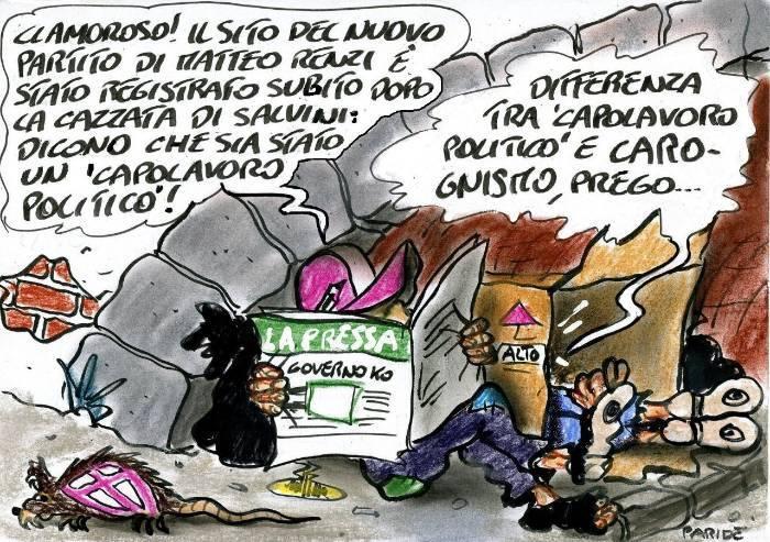 Renzi, capolavoro o carognismo?