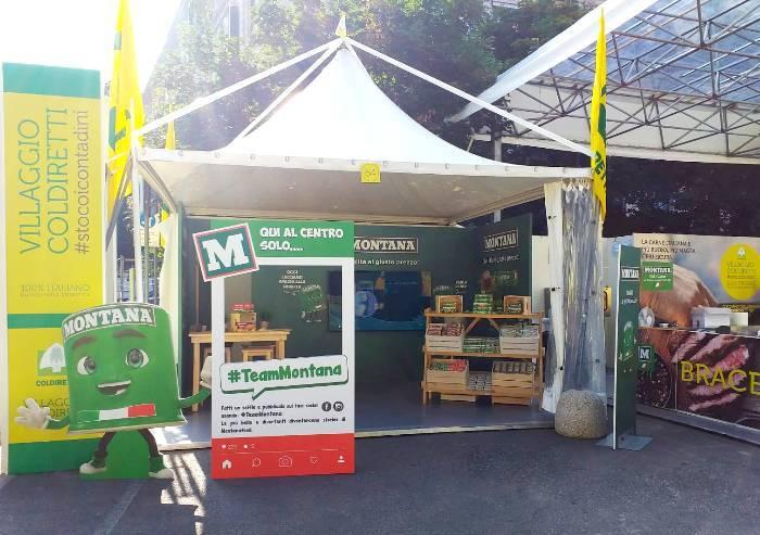 Montana (Inalca) sponsor del villaggio Coldiretti a Bologna