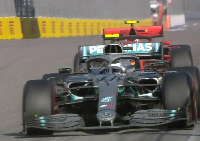 Rivincita Mercedes: doppietta in Russia. Leclerc terzo, Vettel fuori