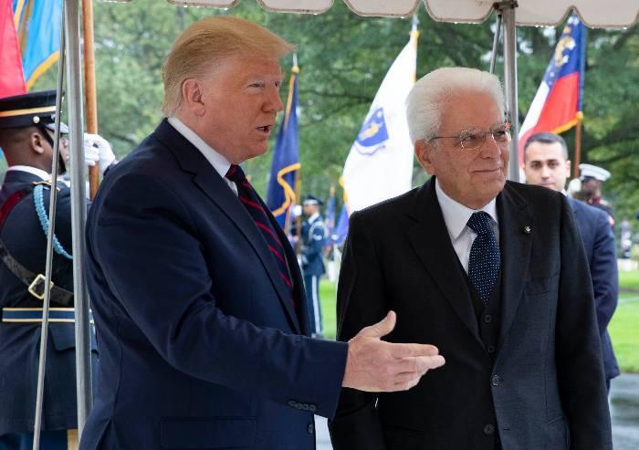 Dazi, Mattarella ci prova ma Trump è un muro