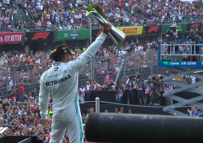 F1: vince Hamilton davanti a Vettel, Leclerc quarto
