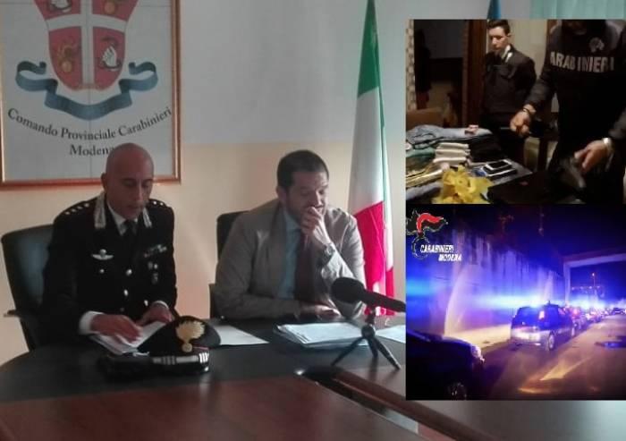 Carpigiani spacciatori e consumatori: blitz Carabinieri, 11 arresti