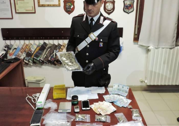 Campogalliano: spaccia droga a giovani, arresto in flagranza